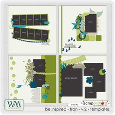 Be Inspired - Fran - V.2 - Templates