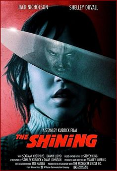 The Shining Jack Torrance moves with his wife and hi . - The Shining Jack Torrance moves with his wife and seven-year-old son to the i - Classic Movie Posters, Classic Horror Movies, Movie Poster Art, Iconic Movies, Classic Films, Cult Movies, Terror Movies, Film Poster Design, Fan Poster