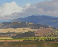 Valley View 8x10, painting by artist George Lockwood
