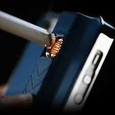 A lighter and Iphone case in one! #phone gadgets #mobliephoneaccessories #smartphonegadgets