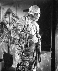 The Mummy's Tomb is a 1942 Universal horror film. Starring Lon Chaney Jr, The Mummy's Tomb also features Turhan Bey and George Zucco. Retro Horror, Horror Icons, Vintage Horror, Horror Films, Classic Monster Movies, Classic Horror Movies, Classic Monsters, Aliens, Mummy Movie