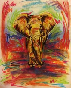 Elephant art.This is really good.