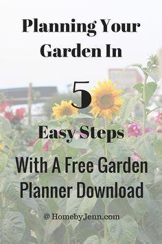 Planning Your Vegetable Garden In 5 Easy Steps — Home by Jenn