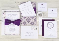 Purple-Woodland-Wedding-invitations-Blue-Magpie-OSBP7