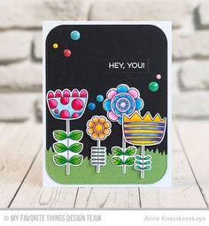 MFT March 2017 Card Kit Release — Doodled Blooms @akossakovskaya @mftstamps #cardmaking #mftstamps