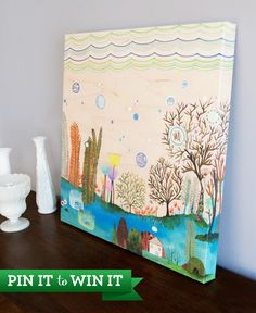 Re-pin to win a stretched canvas by your fave GelaSkins artist! Winners will be selected June 3rd. #gelaskins #gelaskinspintowin www.gelaskins.com