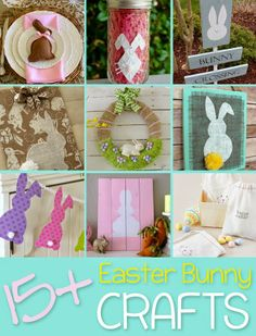 Over 15 Easter Bunny Craft Ideas