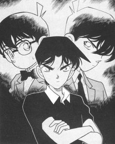 Detective Conan...i am super sad they stopped dubbing this when it is an ongoing series...now i want to read the manga