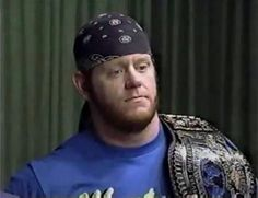 Mark Callaway would later become the legendary Undertaker. - SJ