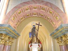 Altar del santuario de santa María Magdalena.