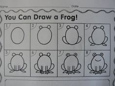 foundations art- frog