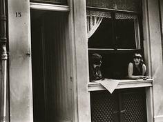Prostitutes at window, Amsterdam, 1936 (Ilse Bing)