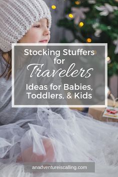 Stocking Stuffers for Travelers Christmas Stocking Stuffers, Christmas Stockings, Christmas Items, Traveling With Baby, Travel With Kids, Family Travel, Travel French Press, Travel Bottles, Sentimental Gifts