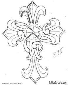 clip art crosses free | Celtic Cross Clip Art Tattoo Design + Rose Flower | Just Free Image ...
