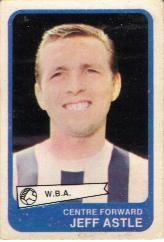 Jeff Astle (A&BC Gum Cards 1968/69)