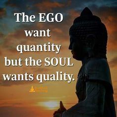 Its always quality over quantity...