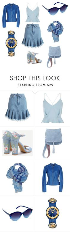 """denim time"" by angela-villano ❤ liked on Polyvore featuring Zimmermann, River Island, Steve Madden, J. Furmani, Freaky Nation and Nanette Lepore"