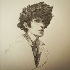 Spike Spiegel - Cowboy Bebop, suggested by a lot of people :) #cowboybebop…