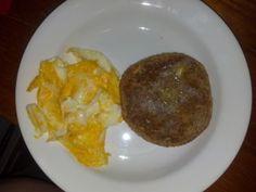 Breakfast -Ezekiel English Muffinwith butter, egg