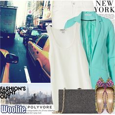 """""""992. Fashion's Night Out With Polyvore & Woolite!"""" by amber-nicki-rose on Polyvore"""
