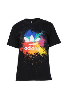 We are gettin' funkier this season with our new-in Adidas Splash Ink T-Shirt! Good for casual outings and gym junkies, we are crushin' on our all new tee collection.