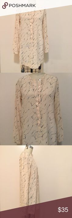 Alternative apparel marble tunic sz M Cute cream and black marble tunic. No flaws ! Great condition. Alternative Apparel Tops Tunics