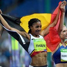 SECOND GOLD FOR BELGIUM !!!  Congrats Nafi we love you !!! #Rio2016 #olympics #belgium #belgian #heptathlon #athlétisme #proud #happy #bel #gold