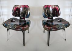 A.R.T. Eames Inspired - custom painted
