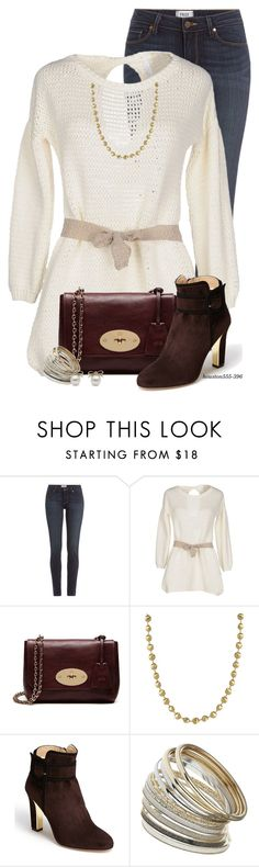 """Kate Spade Ankle Bootie"" by houston555-396 ❤ liked on Polyvore featuring Paige Denim, Brebis Noir, Mulberry, Marco Bicego, Kate Spade and Miss Selfridge"