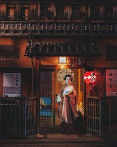 Geiko & Maiko — August 2017: Maiko Tatsuha (Tama Okiya) of Gion...