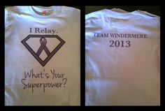 I Relay...what's your Super Power?