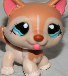 Littlest Pet Shop Husky 1012 Polar Pup Hasbro LPS Dog Huskies