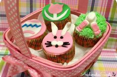 Easter CupcakesANCHORED IN SWEETS