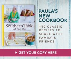 Nana's Blueberry Muffins by Paula Deen is a classic breakfast pastry that's simply delicious. Grilled Chicken Parmesan, Fried Chicken, Southern Tomato Pie, Pineapple Casserole, Pimento Cheese Recipes, Salmon Croquettes, Paula Deen, Fresh Oysters