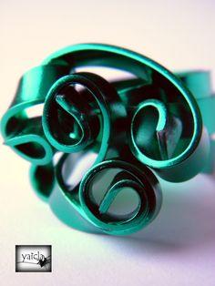 hilo de aluminio plano