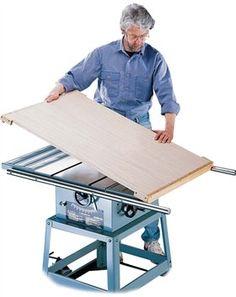 Tablesaw Worktable - Popular Woodworking Magazine