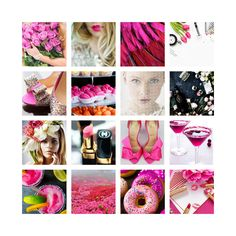The inspiration board for my current Brand Development http://www.happygirldesign.com
