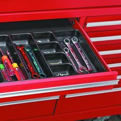 20 Amazing Storage Products from Harbor Freight — Family Handyman Nut And Bolt Storage, Tool Drawers, Fabrication Tools, Harbor Freight Tools, Home Repairs, Good Housekeeping, Tool Organization, Organizing Your Home, Craft Storage