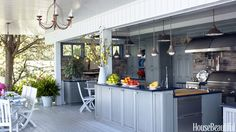 Outdoor Kitchen Design Ideas - Outdoor Kitchen Pictures - House Beautiful