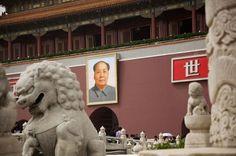 Ritratto di Mao a Pechino  Foto © Neige De Benedetti