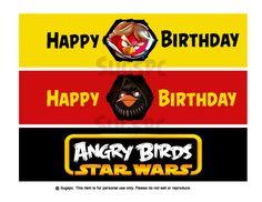 Angry Birds Star Wars Bottle Wraps https://www.etsy.com/listing/191209920/angry-bird-star-wars-water-bottle-labels