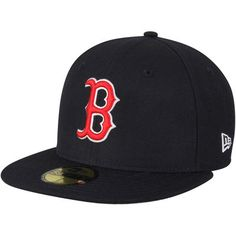 new concept 8b3b8 314bd Boston Red Sox New Era Wool Standard 2 59FIFTY Fitted Hat - Navy