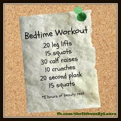 Quick and easy before bed routine! #sleep #squat #happy