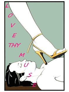 Patrick Nagel HIgh Heels Domination Surrender