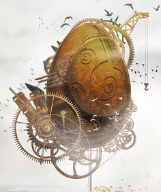 Steampunk Easter Egg + Making of on Behance