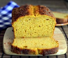 Greek Yogurt Pumpkin Bread