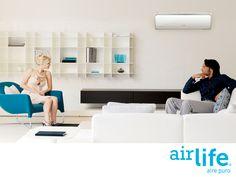 El mejor mantenimiento para tu sistema de aire acondicionado. LAS MEJORES SOLUCIONES EN PURIFICACIÓN DEL AIRE. Para poder respirar seguro y tranquilo, en Airlife ponemos a tu alcance soluciones especiales que mejoran la calidad del aire que circula por los sistemas de climatización. Además, nuestra tecnología cuenta con la certificación de eliminar el 99.9% del virus AH1N1. www.airlife.com #airlife