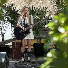 """#SendraLovesMusic """"With my music & my #Sendraboots everywhere"""" @crismendez from the #IndependentMusicFestival in Centro Cultural de España in México.  #Sendra #Sendraboots #handmade #handmadeboots #highquality #madeinspain"""