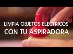 Cómo limpiar los objetos electrónicos con tu aspiradora | @iMujerHogar - YouTube