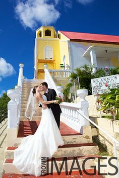 wedding on st thomas photo by crown images